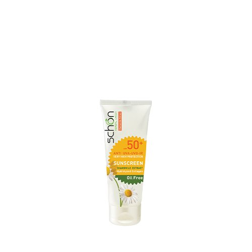 ضد آفتاب شون بی رنگ مخصوص پوست چرب SPF50