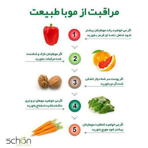 مراقبت از مو با محصولات گیاهی