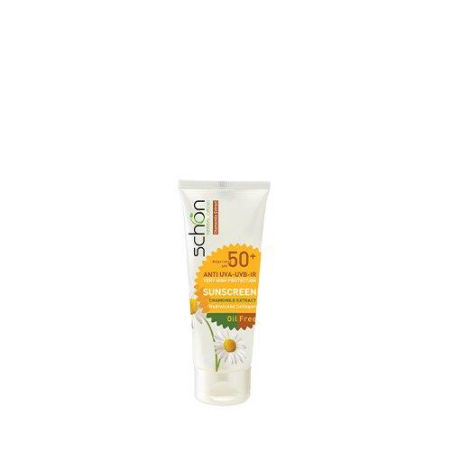 ضد آفتاب شون با رنگ بژ مخصوص پوست چرب SPF50