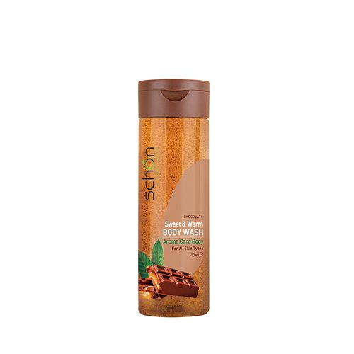 شامپو بدن شفاف شکلات