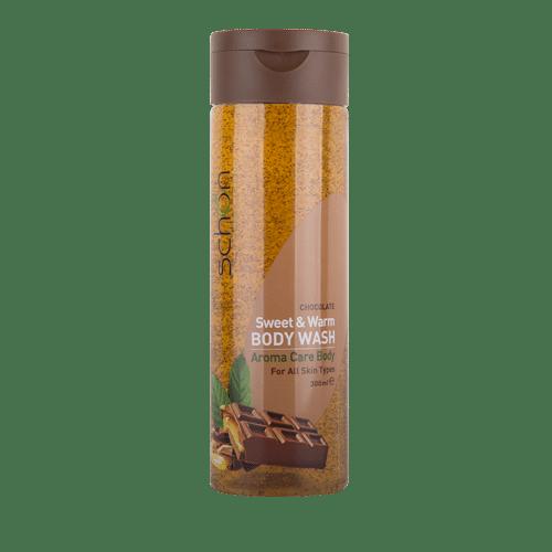 شامپو بدن شفاف شکلات(