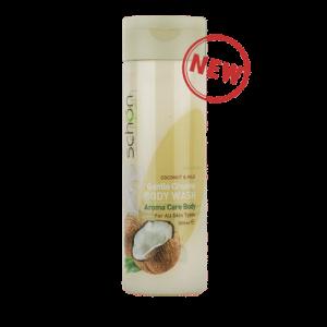 شامپو بدن کرمی مغذی شیر نارگیل شون