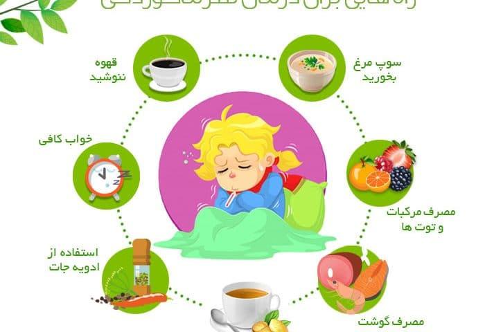 راههایی برای درمان سرما خوردگی