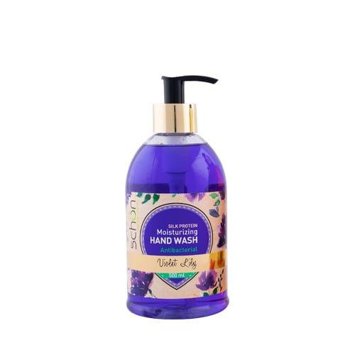 مایع دستشویی آنتی باکتریال شفاف Violet Lily شون