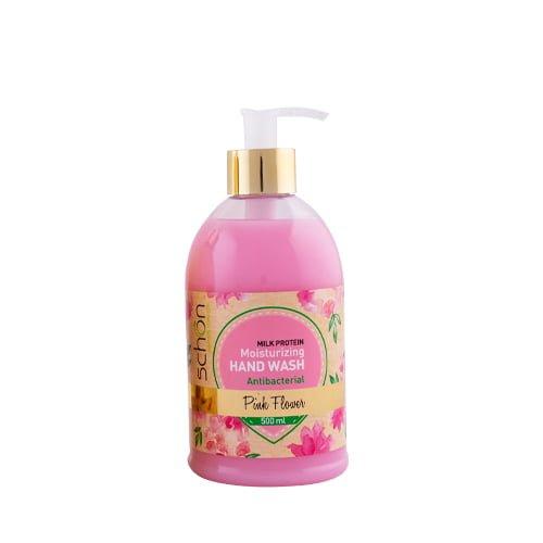 مایع دستشویی آنتی باکتریال شفاف Pink Flower شون