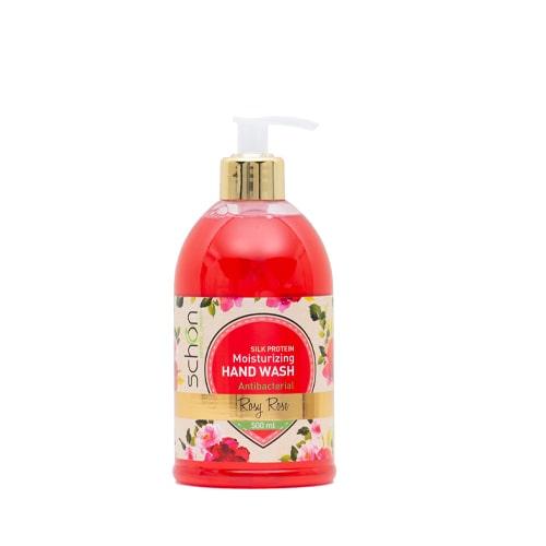 مایع دستشویی آنتی باکتریال شفاف Rosy Rose شون