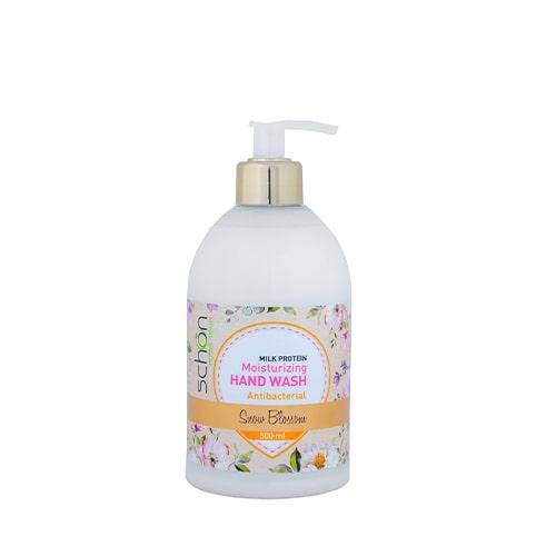 مایع دستشویی آنتی باکتریال کرمی Snow Blossom شون