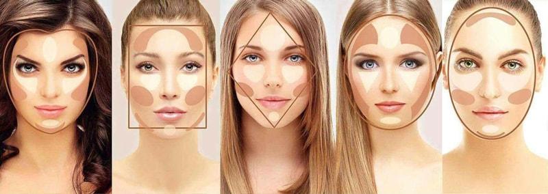 کانسیلر و کانتور برای انواع فرم چهره